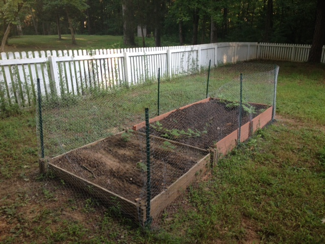 Completed Garden With Fence